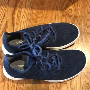 Allbirds men's tree runners blue